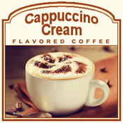 Decaf Cappuccino Cream Flavored Coffee (1/2lb bag)