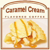 Decaf Caramel Cream Flavored Coffee (1/2lb bag)