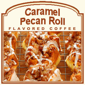 Decaf Caramel Pecan Roll Flavored Coffee (1/2lb bag)