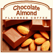 Decaf Chocolate Almond Flavored Coffee (1/2lb bag)
