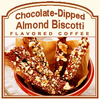 Decaf Chocolate-Dipped Almond Biscotti Coffee (1lb bag)