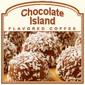Decaf Chocolate Island Flavored Coffee (1/2lb bag)