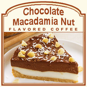 Decaf Chocolate Macadamia Nut Flavored Coffee (1/2lb bag)