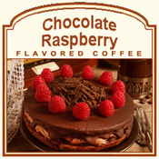 Decaf Chocolate Raspberry Flavored Coffee (1/2lb bag)