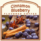 Decaf Cinnamon Blueberry Flavored Coffee (1lb bag)