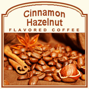 Decaf Cinnamon Hazelnut Flavored Coffee (1/2lb bag)