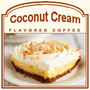 Decaf Coconut Cream Flavored Coffee (1/2lb bag)