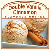 Decaf Double Vanilla Cinnamon Flavored Coffee (1/2lb bag)
