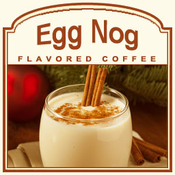 Decaf Egg Nog Flavored Coffee (1lb bag)