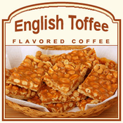 Decaf English Toffee Flavored Coffee (1lb bag)