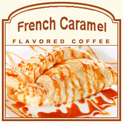 Decaf French Caramel Flavored Coffee (1/2lb bag)