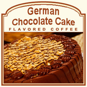 Decaf German Chocolate Cake Flavored Coffee (1lb bag)