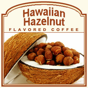 Decaf Hawaiian Hazelnut Flavored Coffee (1/2lb bag)