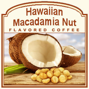 Decaf Hawaiian Macadamia Nut Flavored Coffee (1/2lb bag)