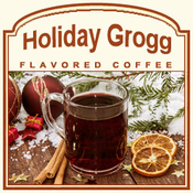 Decaf Holiday Grogg Flavored Coffee (1/2lb bag)