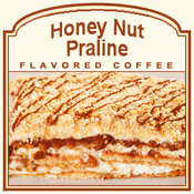 Decaf Honey Nut Praline Flavored Coffee (1lb bag)