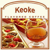 Decaf Keoke Flavored Coffee (1/2lb bag)