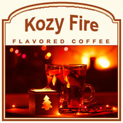 Decaf Kozy Fire Flavored Coffee (1/2lb bag)