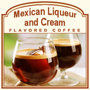 Decaf Mexican Liqueur Flavored Coffee (1/2lb bag)