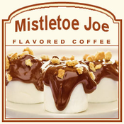 Decaf Mistletoe Joe Flavored Coffee (5lb bag)