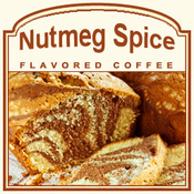 Decaf Nutmeg Spice Flavored Coffee (1/2lb bag)