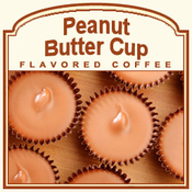 Decaf Peanut Butter Cup Flavored Coffee (1/2lb bag)