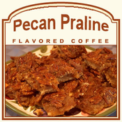 Decaf Pecan Praline Flavored Coffee (1/2lb bag)