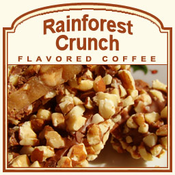 Decaf Rainforest Crunch Flavored Coffee (1/2lb bag)