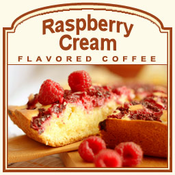 Decaf Raspberry Cream Flavored Coffee (1/2lb bag)