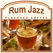 Decaf Rum Jazz Flavored Coffee (1lb bag)