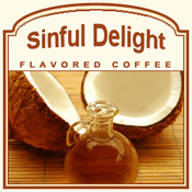 Decaf Sinful Delight Flavored Coffee (1/2lb bag)