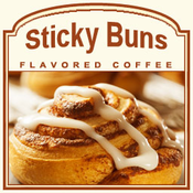 Decaf Sticky Buns Flavored Coffee (1/2lb bag)