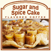 Decaf Sugar & Spice Cake Flavored Coffee (1/2lb bag)