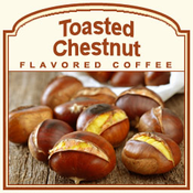 Decaf Toasted Chestnut Flavored Coffee (1/2lb bag)