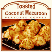 Decaf Toasted Coconut Macaroon Flavored Coffee (1/2lb bag)