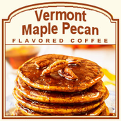 Decaf Vermont Maple Pecan Flavored  Coffee (1lb bag)