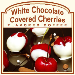 Decaf White Chocolate Covered Cherries Coffee (1lb) $4.95 Shipping ...