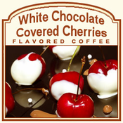 Decaf White Chocolate Covered Cherries Flavored Coffee (1/2lb bag)