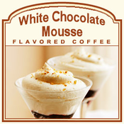 Decaf White Chocolate Mousse Flavored Coffee (1/2lb bag)