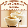 Decaf White Chocolate Mousse Flavored Coffee (1lb bag)