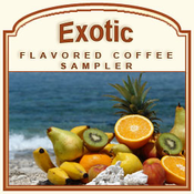 Decaf Exotic Flavored Coffee Sampler
