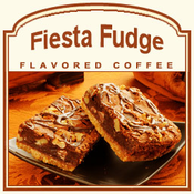 Fiesta Fudge Flavored Coffee (1/2lb bag)