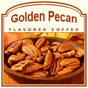 Golden Pecan Flavored Coffee (1/2lb bag)