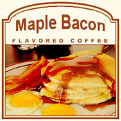 Maple Bacon® Flavored Coffee (1lb Bag)