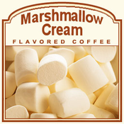 Marshmallow Cream Flavored Coffee (1lb bag)