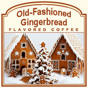 Old-Fashioned Gingerbread Flavored Coffee (1lb bag)