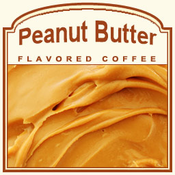 Peanut Butter Flavored Coffee (1lb Bag)