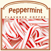 Peppermint Flavored Decaf Coffee (1/2lb Bag)