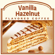 Vanilla Hazelnut Flavored Coffee (1/2lb bag)