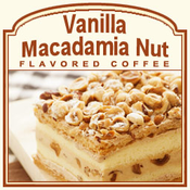 Vanilla Macadamia Nut Flavored Coffee (1/2lb bag)
